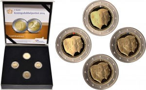 2 euro Netherlands 2014 colored box