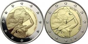 2 euro malta 2014