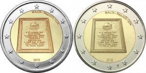 2 euro malta 2015