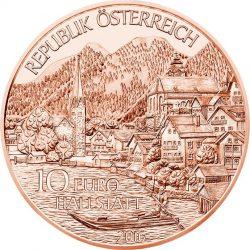 10 евро «Верхняя Австрия» (Cu), аверс