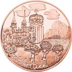 10 евро «Верхняя Австрия» (Cu), реверс
