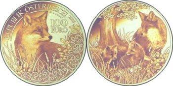 100 евро «Лиса»