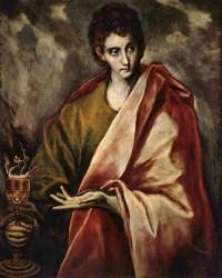 El Greco. St John the Evangelist