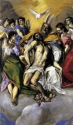 El Greco. Trinity. 1579