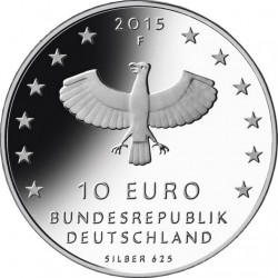 Germany 2015. 10 euro. Leipzig (Ag 625)