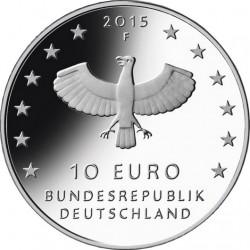 Germany 2015. 10 euro. Leipzig (Cu-Ni)