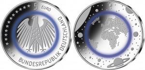 Germany 2016 5 euro Planet Erde