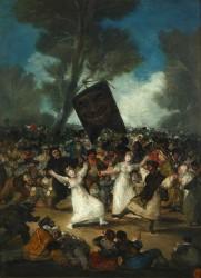 Goya. El entierro de la sardina