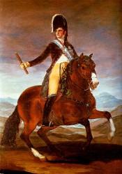 Goya. Retrato ecuestre de Fernando VII
