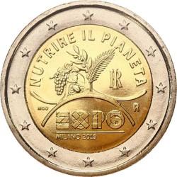 Italy 2015. 2 euro. EXPO