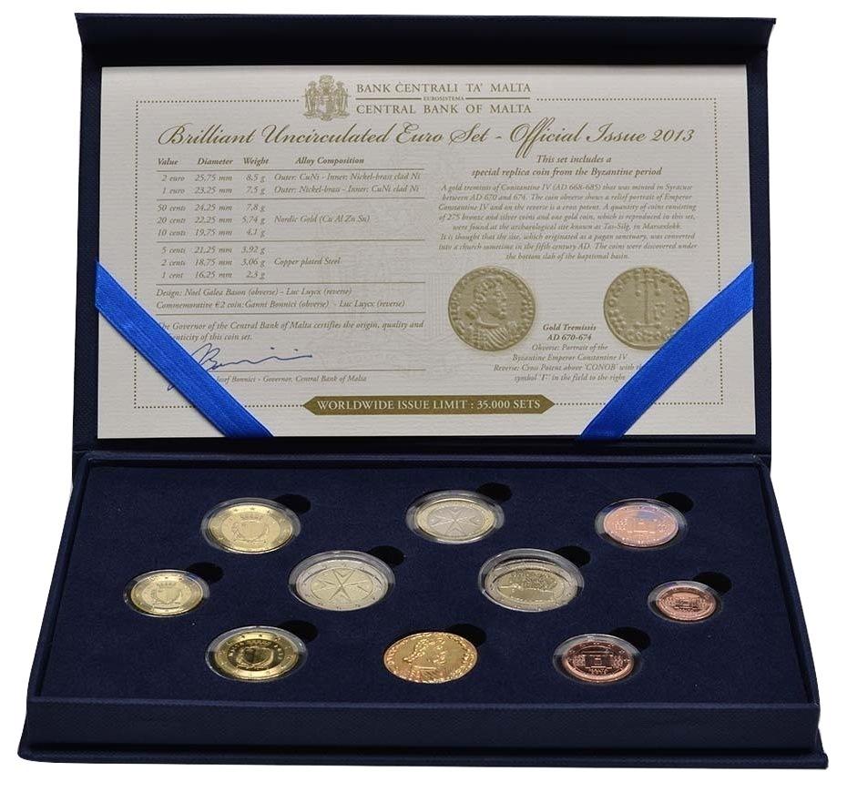 Malta euro KMS 2013