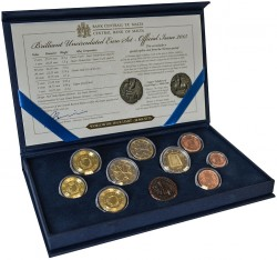 Malta euro KMS 2015