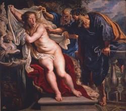Rubens. Susana y los viejos (1609-1610)