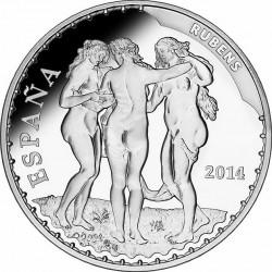 Spain 2014. 10 euro. Rubens
