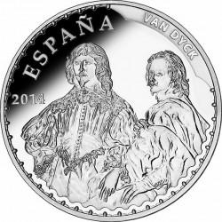 Spain 2014. 10 euro. van Dyck