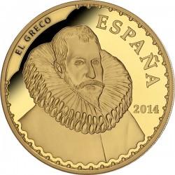 Spain 2014. 400 euro. El Greco