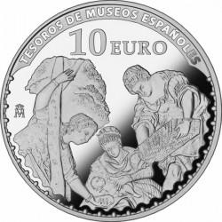 10 евро, Тинторетто, реверс