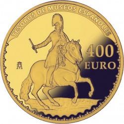 Spain 2015. 400 Euro. Goya