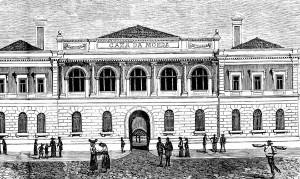 В этом здании на улице São Paulo монетный двор располагался на протяжении 1720-1941 гг. Изображение 1891 г.