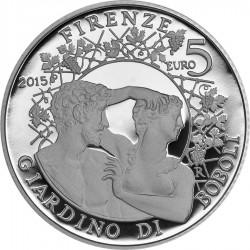 Italy 2015. 5 euro. Giardino Boboli