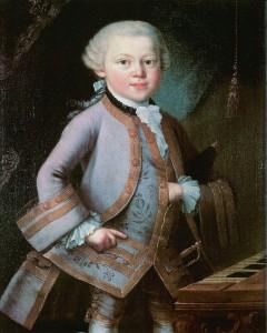 Wolfgang Amadeus Mozart. 1763