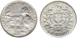 Эскудо 1910 г.