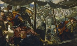 Tintoretto. Rape of Helen, 1578-1579