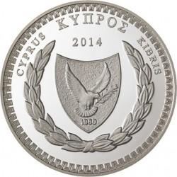 Cyprus 2014. 5 euro. Costas Montis