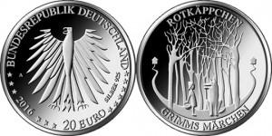 20 евро «Красная Шапочка»