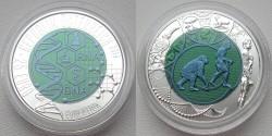 Австрия, 25 евро, «Эволюция»