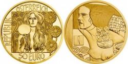 Австрия, 50 евро, «Юдифь II»