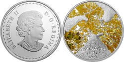 Канада, 10 долларов, «Кленовый навес. Осенний аллюр»