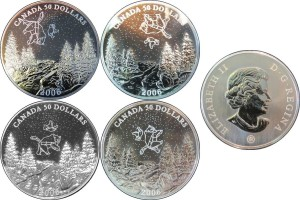 Canada 2006. 50 dollars. Palladium Coin Set