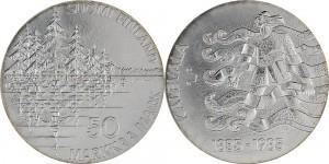 Finland 1985. 50 markkaa. Kalevala