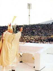 Иоанн Павел II (Сараево, 13 апреля 1997 г.)
