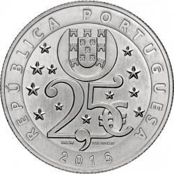 Portugal 2015. 2.5 euro. Climate