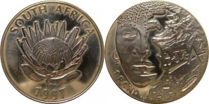 SAR 1997. 1 rand. Women of South Africa