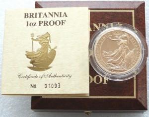 UK 1987. 100 Pound. Britannia