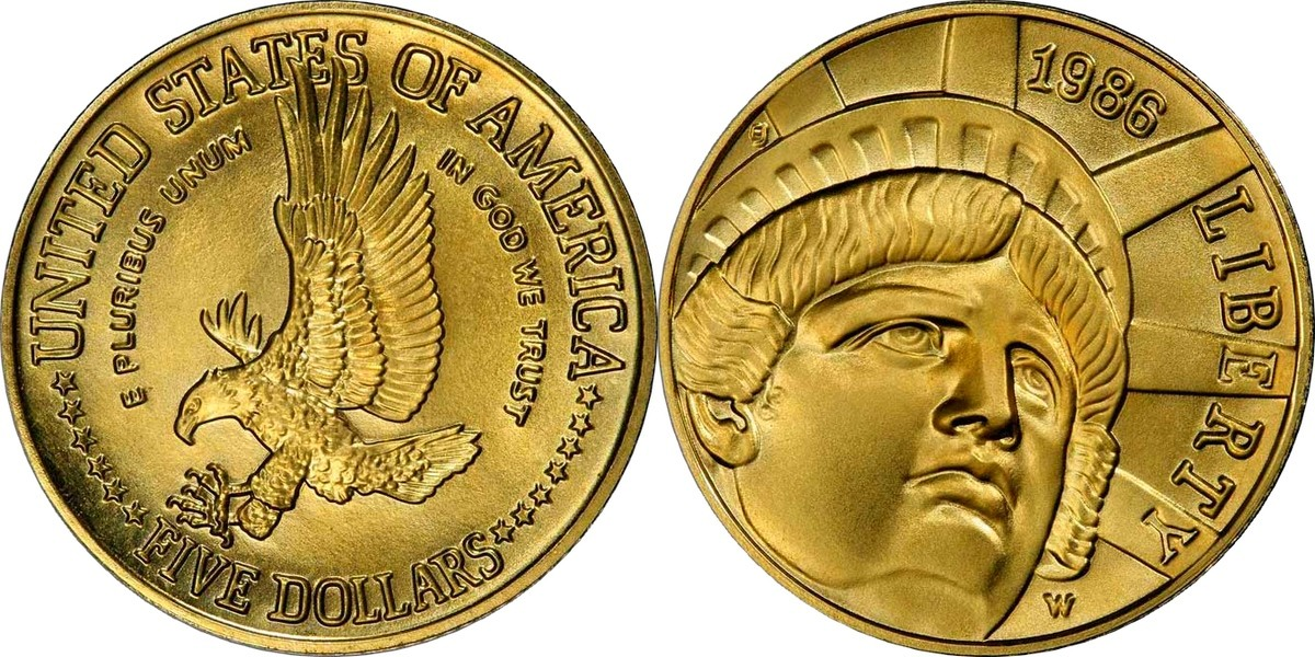 5 долларов 1986 золото монеты румыния каталог
