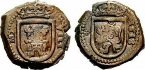 8 maravedis Madrid 1618 Felipe III
