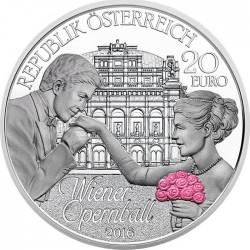 Austria 2016. 20 euro. Opernball