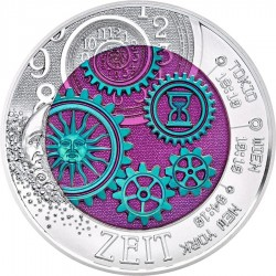 Austria 2016. 25 euro. Zeit