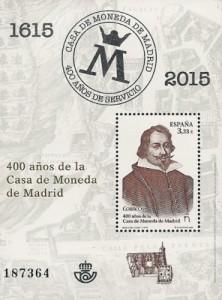 Filatelia 400 anos de la Casa de Moneda de Madrid