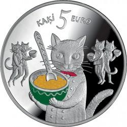 Latvia 2015. 5 euro. 5 kaki