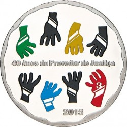 Portugal 2015 2.5 euro Ombudsman Ag 925