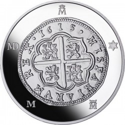Spain 2015. 10 euro. 4 reales Phillip III