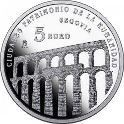 Spain 2015. 5 euro. Segovia