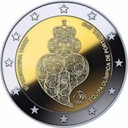 2 euro Portugal 2016 Olimpic Rio