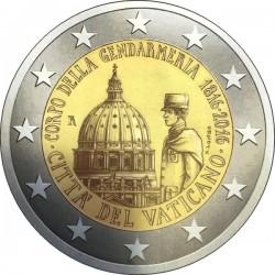 2 euro Vatican 2016 Gendarmeria
