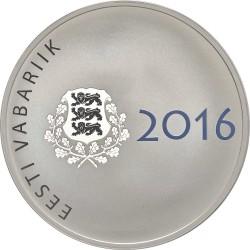 Eesti 2015. 10 euro. Jaan Poska